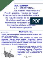 [CLASE] 2sem MF Hidrostatica