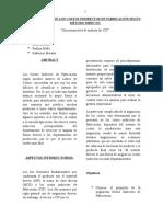 Distribucion de Los Costos Indirectos de Fabricacion II