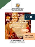 Laporan Keberkesanan Program Karnival Kokurikulum Di Sk Sri Biram