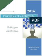 Enfoque Sistemico_programa de Asignatura_2016-II