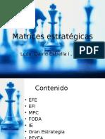 Matrices Estratégicas