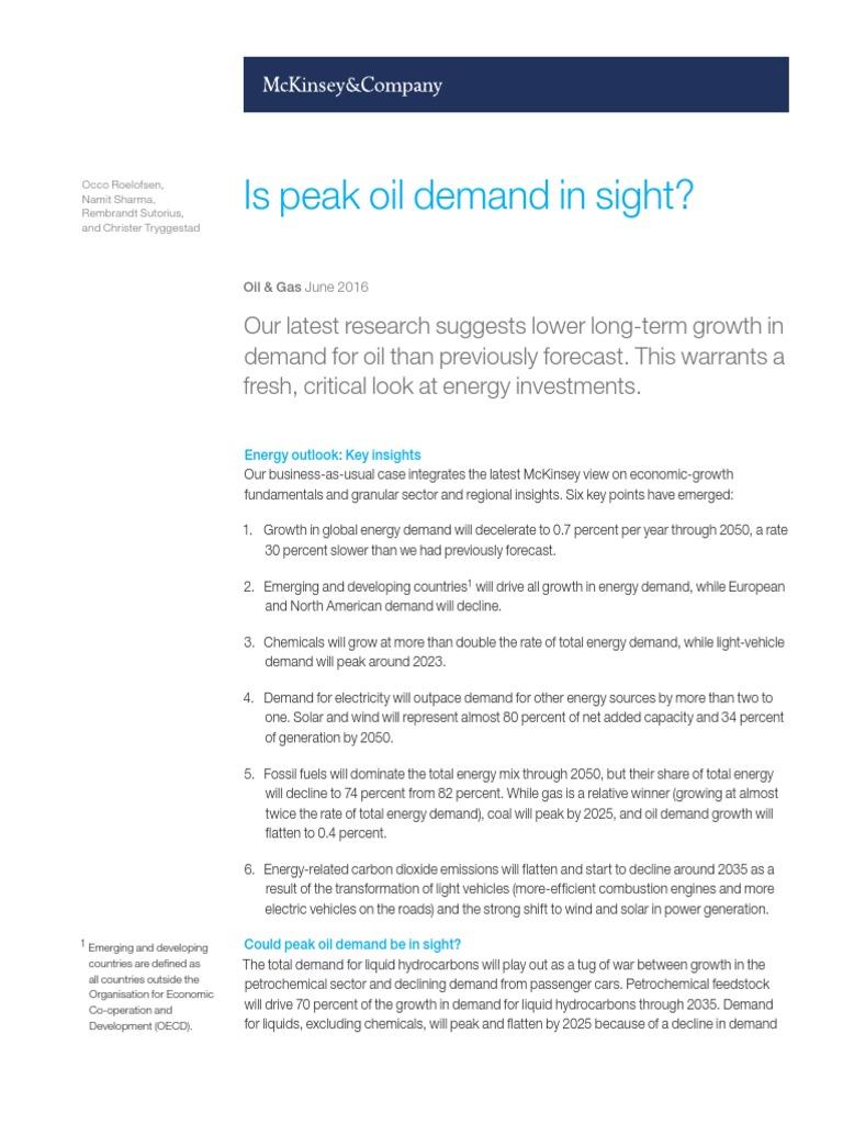 Is-peak-oil-demand-in-sight-Final pdf | World Energy