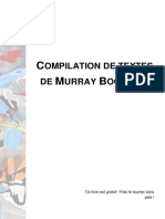 Extraits de textes de Murray Bookchin