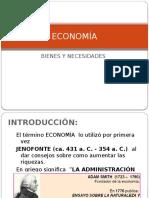 ECONOMÍA 1 - Bienes y Servicios