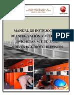 Manual de Instrucciones Energizacion y Operacion Celdas Mt
