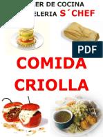 Comida Criolla Regalo