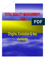 2.3.5 Total Quality Management