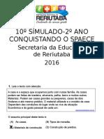 10º SIMULADO - SPAECE.ppt