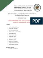 Farmaco Experimental Informe Final