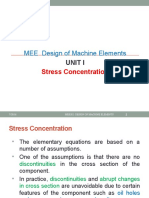 DME Stress Concentration