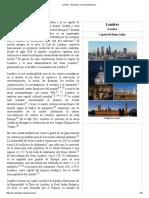Londres - Wikipedia, La Enciclopedia Libre