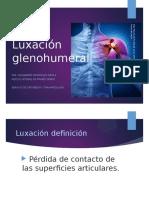 Luxación glenohumeral