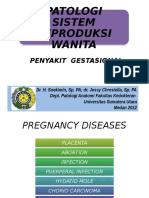 Pathology of Gestational Diseases