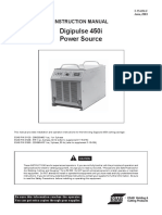 INSTRUCTION MANUAL Digipulse 450i Power Source