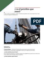 ¿a Dónde Se Va El Petróleo Que Produce Pemex_ - Grupo Milenio