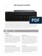 Data Sheet - C 356BEE Stereo Integrated Amplifier