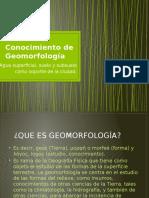 Conocimiento de Geomorfología