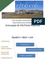Articulação DE POLÍTICAS PÚBLICAS[Autor]