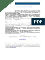 Fisco e Diritto - Corte Di Cassazione n 25353_2009
