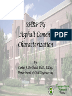 SHRP Asphalt Cement Characterization