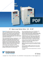 Yaskawa V7 VFD Drives