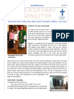 Kolb Family Newsletter July 2016 PDF