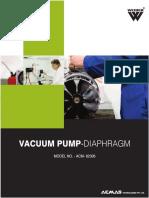 Vacuum Pump Diaphragm