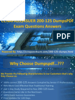 CCNAPASS$4SUER 200-125 DumpsPDF  Exam Questions Answers