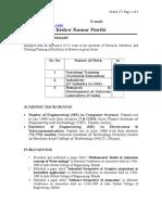 Er Kishor Kumar Panthi CV