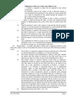 Statutary Obligations