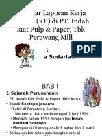 Seminar Laporan Kerja Praktik (KP)
