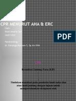 Cpr Menurut Aha & Erc Kiki
