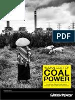 Cost of Coal Power