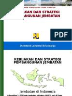 01 Kebijakan & Strategi Pembangunan Jembatan