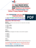 [2016.07.NEW]Cisco Exam 300-207 Dumps 251q[1-10]