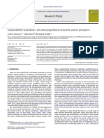 markard 2012 Sustainability transitions - An emerging field of research and its prospects.pdf