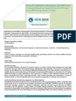 15 phd positions eu h2020 msca-etn new-mine