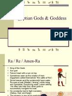 Egyptian Gods & Goddess
