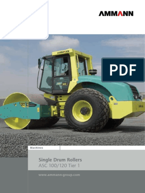 Ammann-Single-Drum-Roller-ASC-Tier1_EN pdf | Vehicle