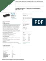 ATMEGA328P-PN ATMEL, 8 Bit Microcontroller, Low Power High Performance, ATmega, 20 MHz, 32 KB, 2 KB, 28 Pins, DIP _ Farnell Element14