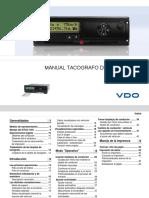 Manual Tacografo