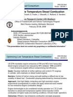 low temperature diesel engine