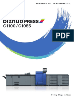 Bizhub Press c1100 c1085 Catalog e