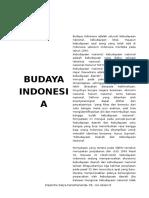 Tugas Budaya Indonesia