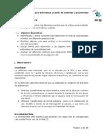 Evaluacion de Accesibilidad en páginas web