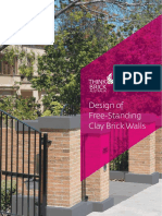 Freestanding Masonry Walls Design