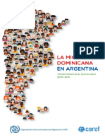 OIM-CAREF La Migración Dominicana en Argentina 2000-2015