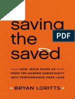 Saving the Saved Sample