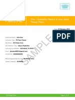 Solar Assessment Report
