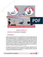 Programa de Estudios Operador